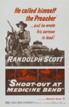 Shoot Out at Medicine Bend 1957 DVD - Randolph Scott /  James Craig